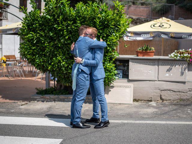 Il matrimonio di John e Ellie a Agliano Terme, Asti 46