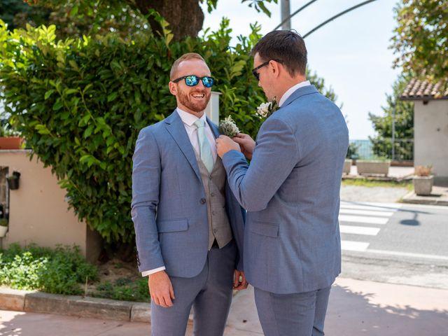 Il matrimonio di John e Ellie a Agliano Terme, Asti 48