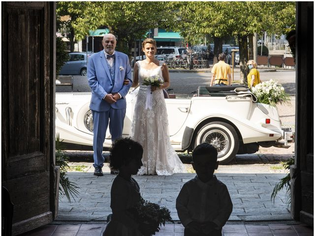 Il matrimonio di Fabio e Federica a Montorfano, Como 25