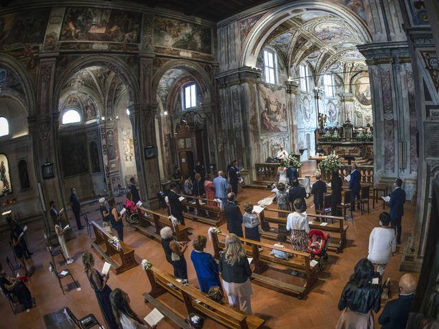 Il matrimonio di Fabio e Federica a Montorfano, Como 31