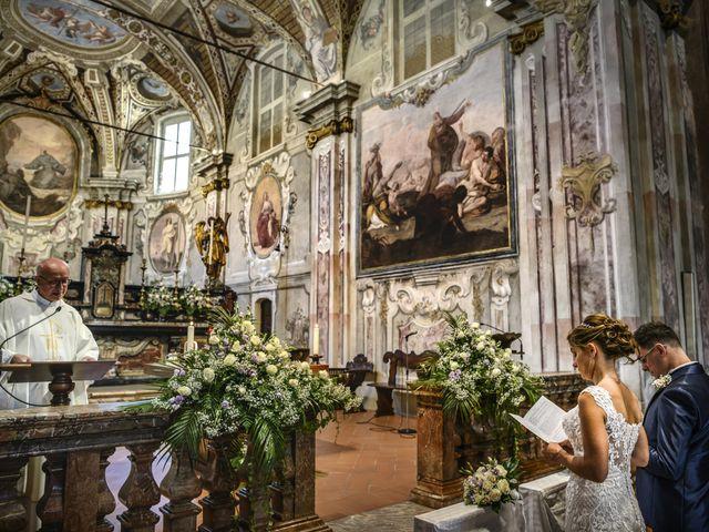 Il matrimonio di Fabio e Federica a Montorfano, Como 28
