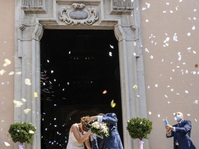 Il matrimonio di Fabio e Federica a Montorfano, Como 40