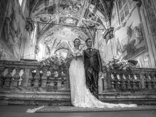 Il matrimonio di Fabio e Federica a Montorfano, Como 34
