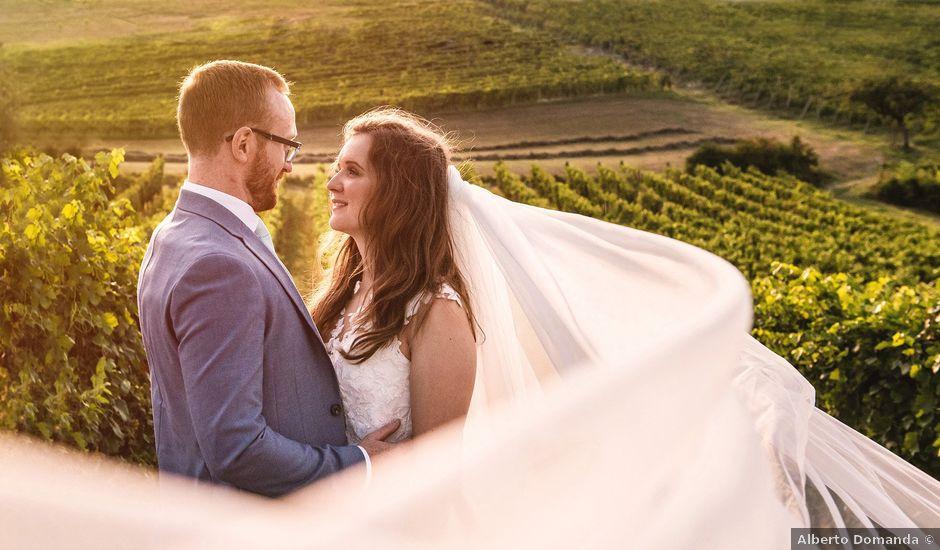 Il matrimonio di John e Ellie a Agliano Terme, Asti