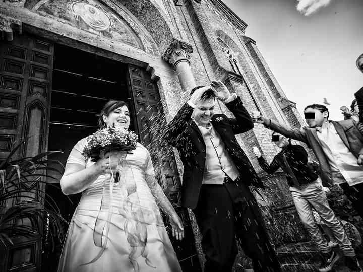 le nozze di Francesca e Sergio
