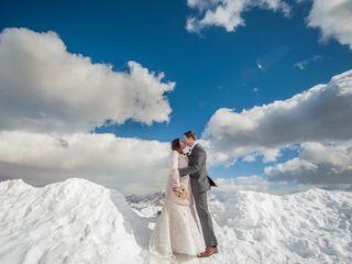 Le nozze di Kim e James