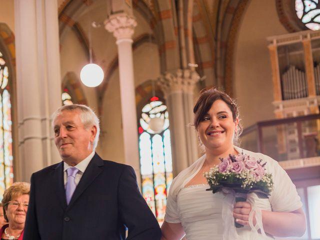 Il matrimonio di Sergio e Francesca a Trezzo sull'Adda, Milano 33