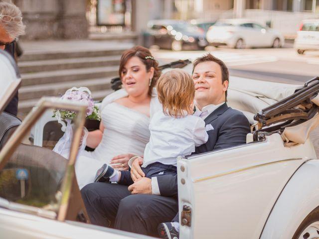 Il matrimonio di Sergio e Francesca a Trezzo sull'Adda, Milano 46