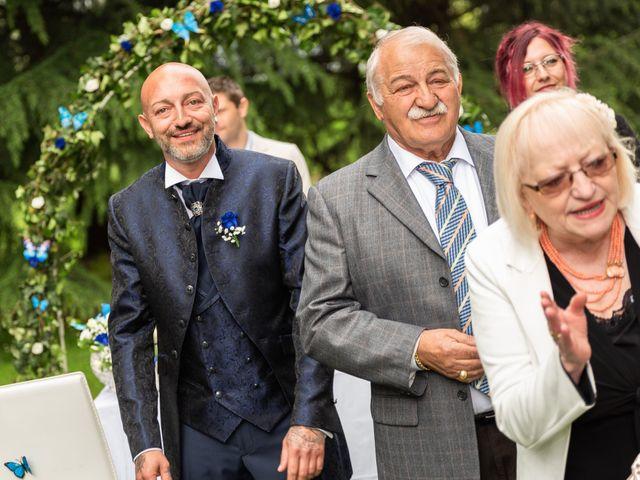 Il matrimonio di Simone e Giorgia a Moscazzano, Cremona 10