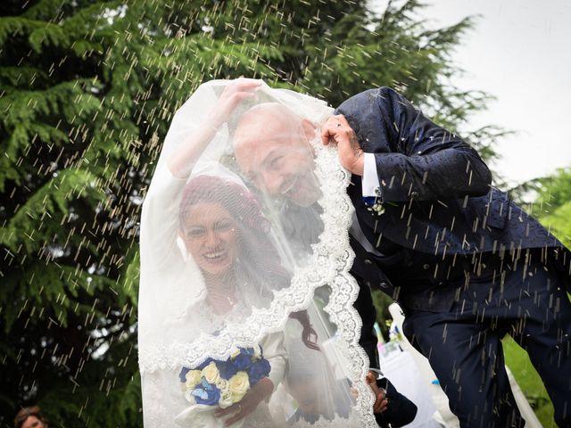 Le nozze di Giorgia e Simone