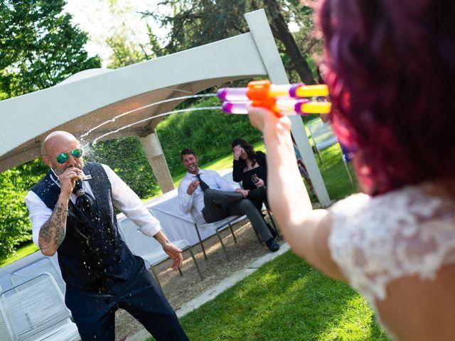 Il matrimonio di Simone e Giorgia a Moscazzano, Cremona 17