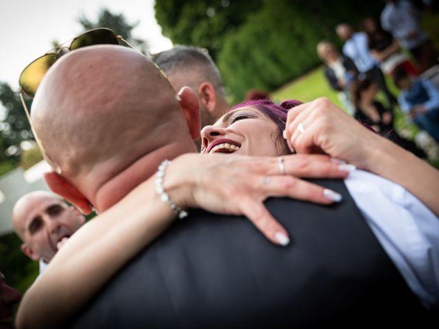Il matrimonio di Simone e Giorgia a Moscazzano, Cremona 19