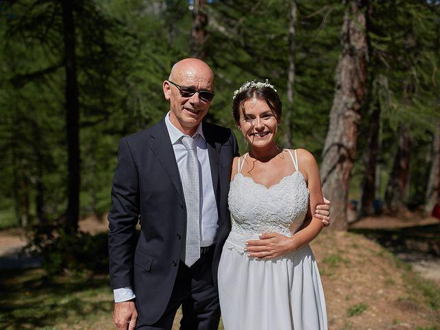 Il matrimonio di Luca e Arianna a Baceno, Verbania 34