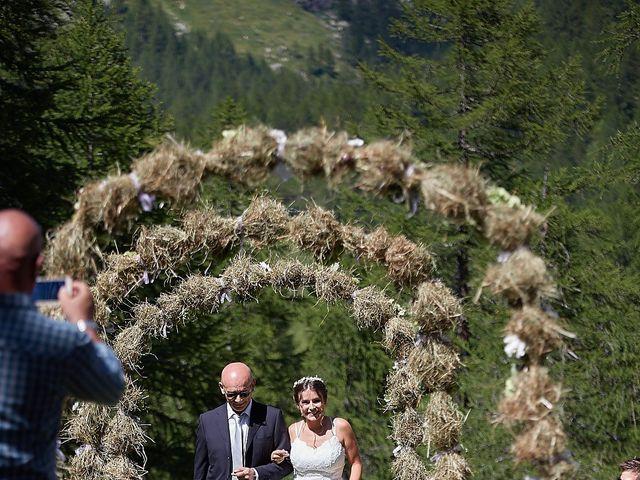 Il matrimonio di Luca e Arianna a Baceno, Verbania 63