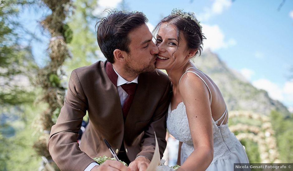 Il matrimonio di Luca e Arianna a Baceno, Verbania