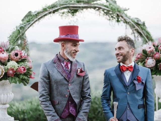 Le nozze di Marco e Morris