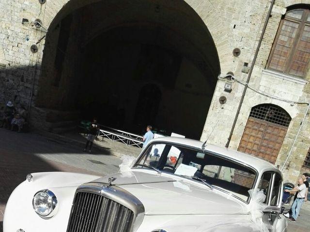 Il matrimonio di Filippo e Laura a San Gimignano, Siena 4