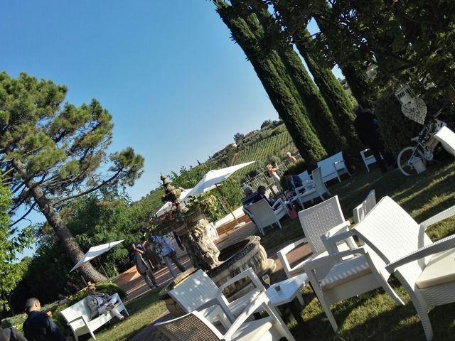 Il matrimonio di Filippo e Laura a San Gimignano, Siena 5
