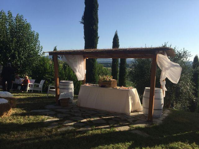 Il matrimonio di Filippo e Laura a San Gimignano, Siena 1