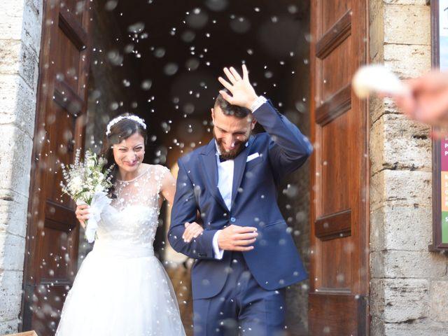 Il matrimonio di Filippo e Laura a San Gimignano, Siena 17