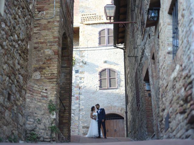 Il matrimonio di Filippo e Laura a San Gimignano, Siena 19