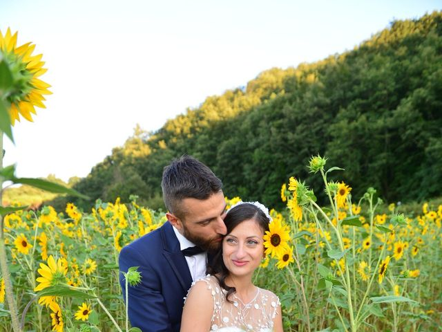 Il matrimonio di Filippo e Laura a San Gimignano, Siena 2