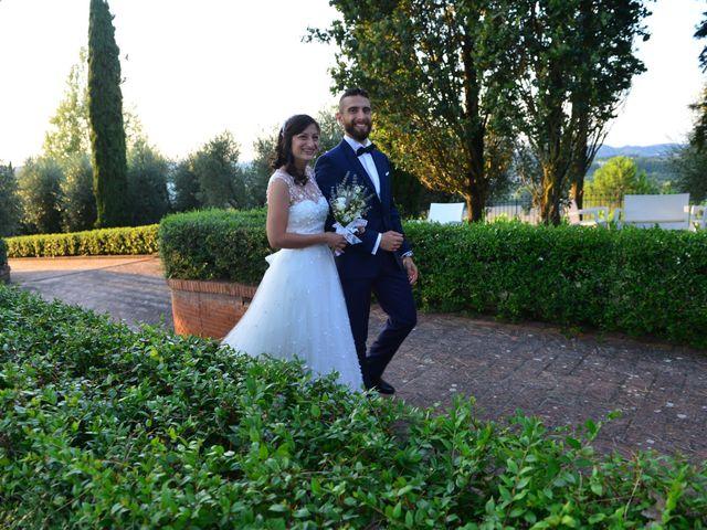 Il matrimonio di Filippo e Laura a San Gimignano, Siena 23