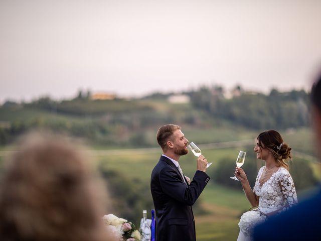 Il matrimonio di Giulia e Matteo a Castell'Alfero, Asti 12