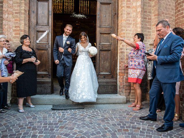 Il matrimonio di Giulia e Matteo a Castell'Alfero, Asti 17