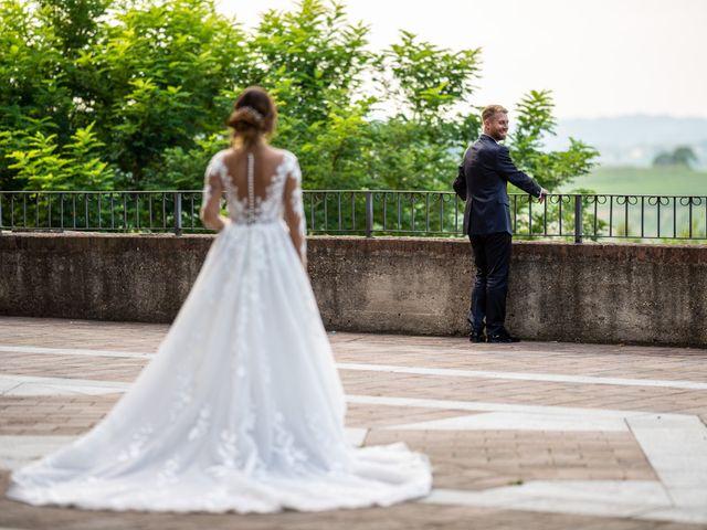Il matrimonio di Giulia e Matteo a Castell'Alfero, Asti 20