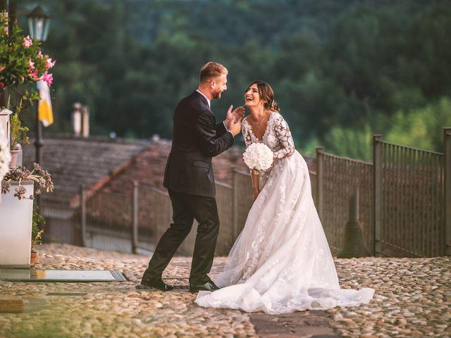 Il matrimonio di Giulia e Matteo a Castell'Alfero, Asti 1