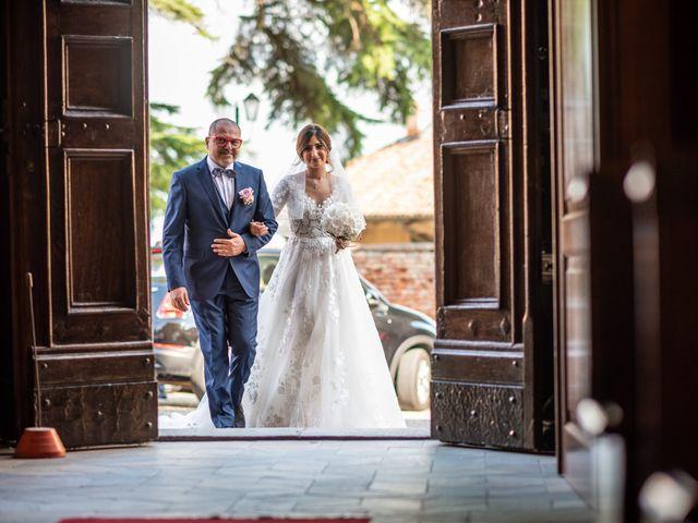 Il matrimonio di Giulia e Matteo a Castell'Alfero, Asti 27