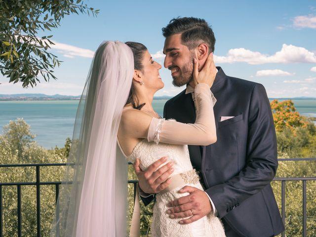 Il matrimonio di Pasquale e Monica a Passignano sul Trasimeno, Perugia 37