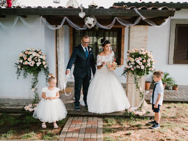 Il matrimonio di Martina e Valerio a Ariccia, Roma 22