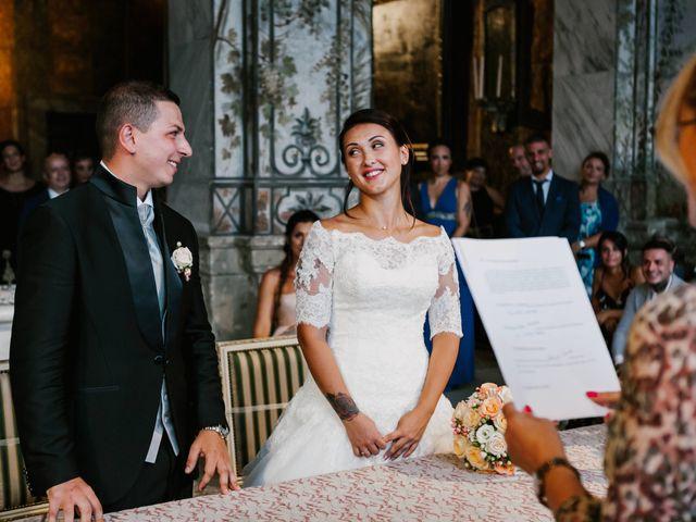 Il matrimonio di Martina e Valerio a Ariccia, Roma 28