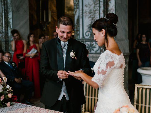 Il matrimonio di Martina e Valerio a Ariccia, Roma 30