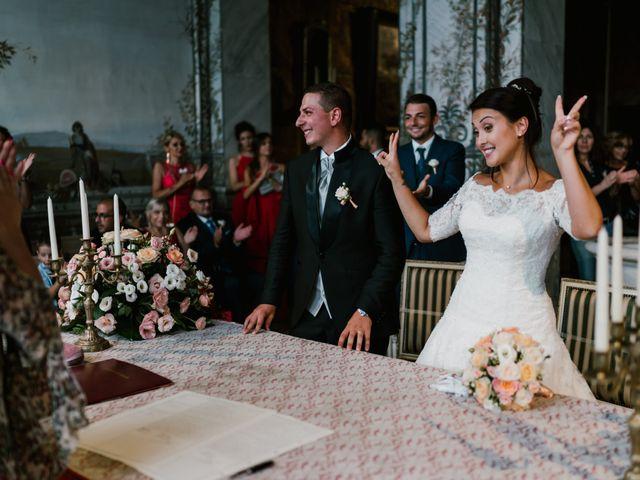 Il matrimonio di Martina e Valerio a Ariccia, Roma 32