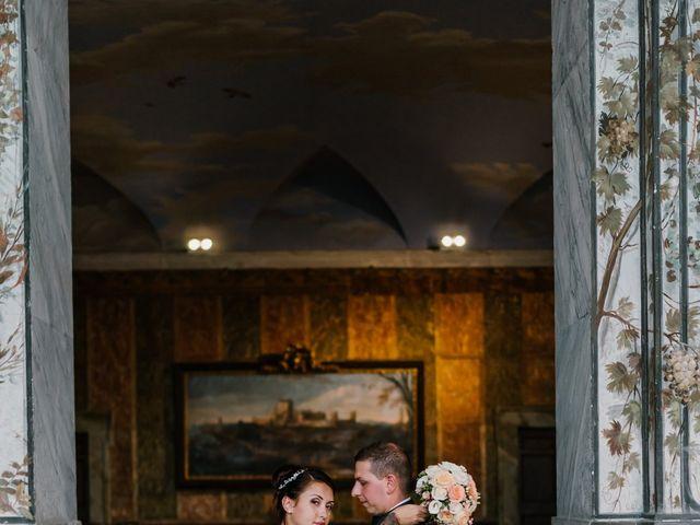 Il matrimonio di Martina e Valerio a Ariccia, Roma 34