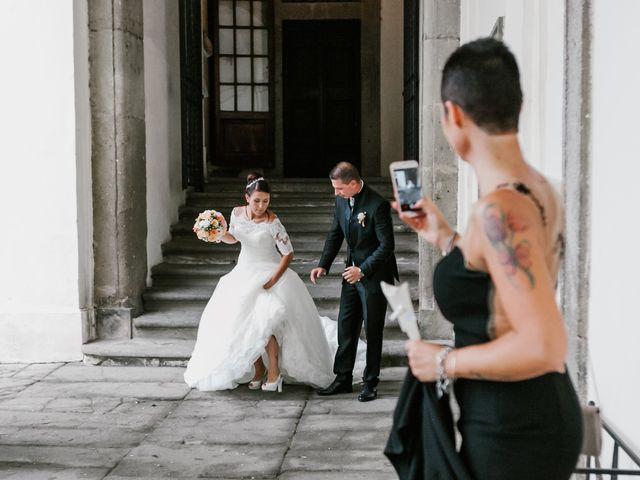 Il matrimonio di Martina e Valerio a Ariccia, Roma 36