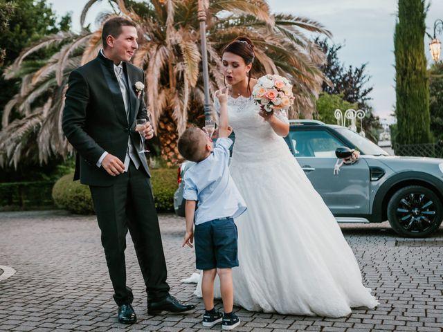 Il matrimonio di Martina e Valerio a Ariccia, Roma 48