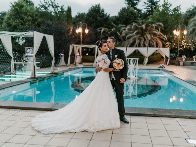 Il matrimonio di Martina e Valerio a Ariccia, Roma 53