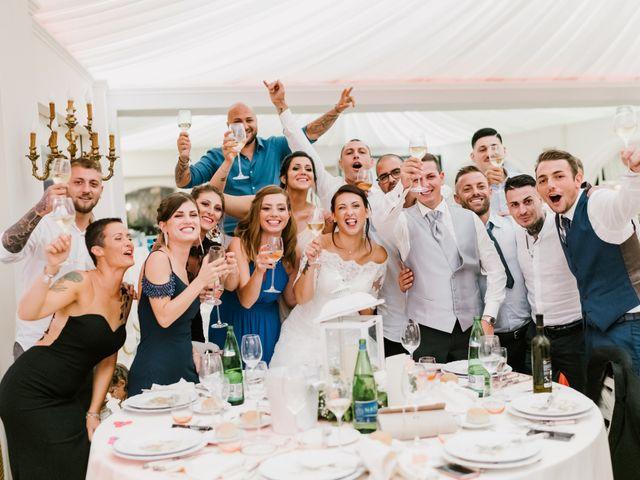 Il matrimonio di Martina e Valerio a Ariccia, Roma 57