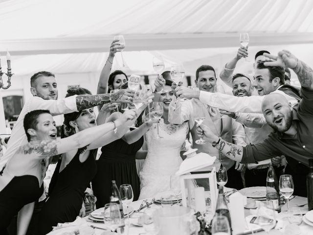 Il matrimonio di Martina e Valerio a Ariccia, Roma 58