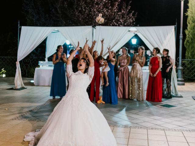 Il matrimonio di Martina e Valerio a Ariccia, Roma 65
