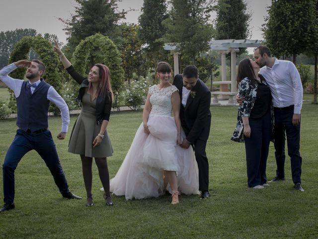 Il matrimonio di Paolo e Giulia a Montichiari, Brescia 38