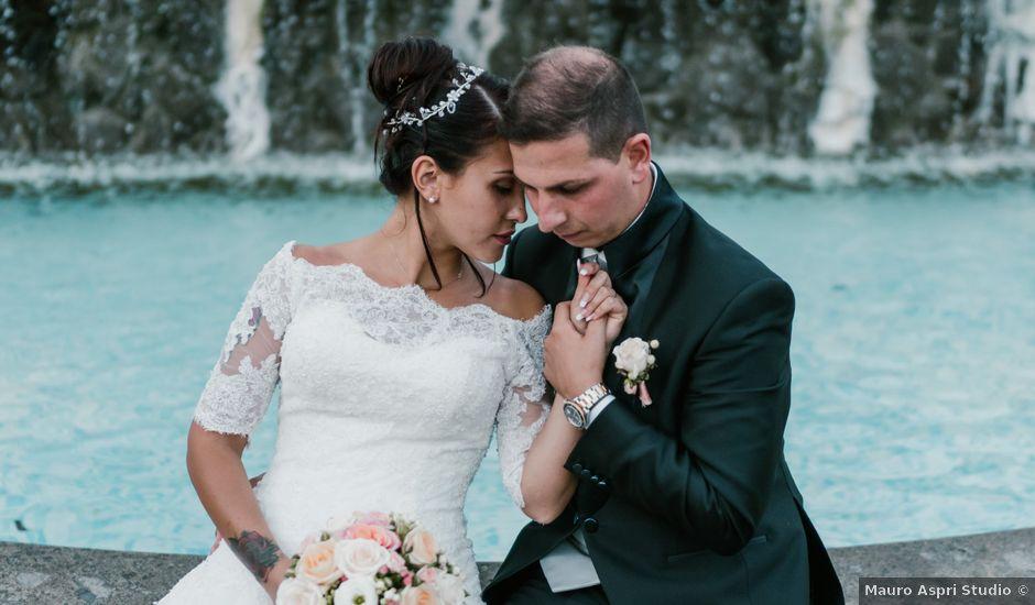 Il matrimonio di Martina e Valerio a Ariccia, Roma