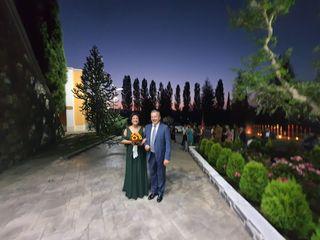 Le nozze di Romina  e Mario