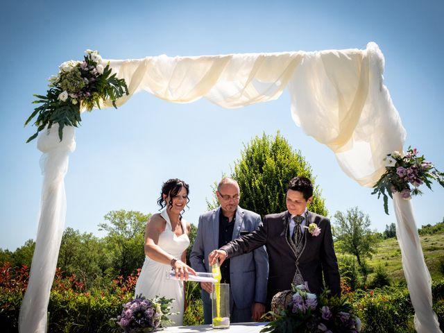 Il matrimonio di Rita e Cristina a Cereseto, Alessandria 37