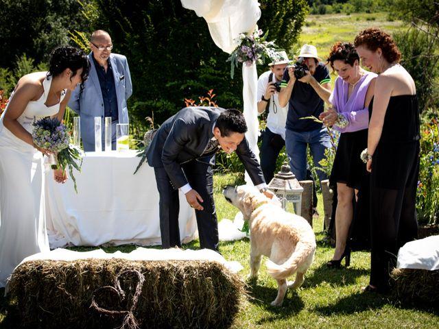Il matrimonio di Rita e Cristina a Cereseto, Alessandria 41