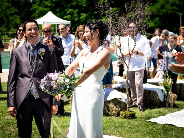 Il matrimonio di Rita e Cristina a Cereseto, Alessandria 47